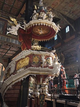 Cea mai mare biserica din lemn din Europa