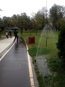 Parcul Drumul Taberei - zi ploioasa 2