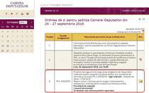 Proiect de lege RCA, in plenul Camerei Deputatilor