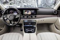 Interior de Mercedes Clasa E