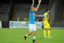 Hamsik a marcat golul 100 in tricoul lui Napoli