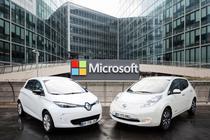 Parteneriat Renault-Nissan-Microsoft