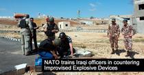 NATO antreneaza militari irakieni in tehnici anti-IED si EOD