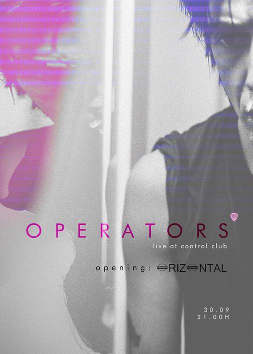 poster Operators live @ Control 30
