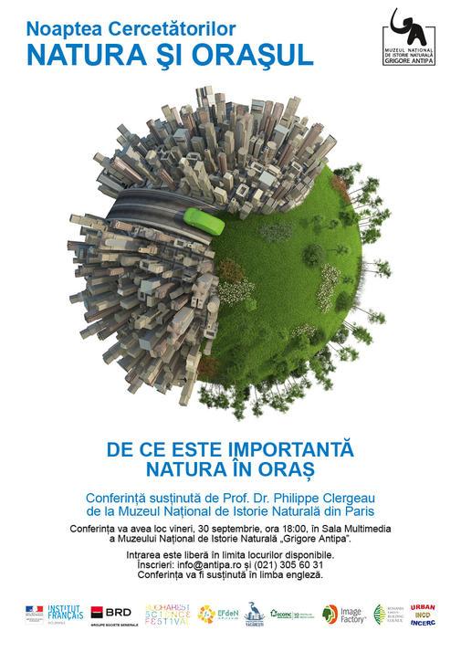 Natura si Orasul Conferinta