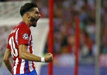 Yannick Carrasco, marcatorul unicului gol al partidei cu Bayern