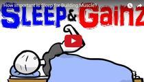 Cat de importanta este odihna pentru formarea masei musculare