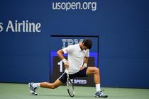 Novak Djokovic, mai mult la antrenament decat pe teren la US Open