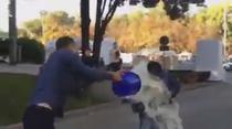 Ministrul Finantelor din Moldova, stropit cu lapte