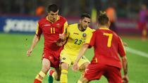 Nicusor Stanciu, in meciul cu Muntenegru