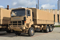 Autocamion militar produs de ROMAN Brasov