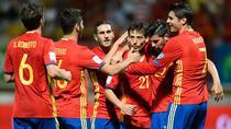 Spania a invins-o pe Lichtenstein cu 8-0