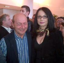 Magda Bistriceanu, alaturi de Traian Basescu