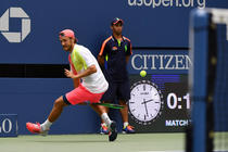 Lucas Pouille, la US Open
