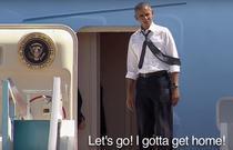 Obama il cheama pe Clinton in avion