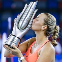 Petra Kvitova, invingatoare la Wuhan