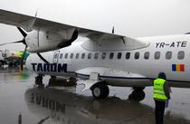 Avion ATR al companiei TAROM