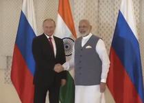 Vladimir Putin si Narendra Modi