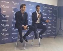 Nadal si Federer, la academia ibericului
