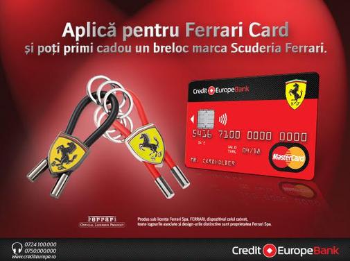 Lansare Ferrari card