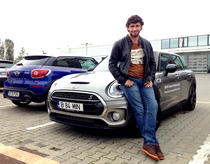 Dragos Bucur si MINI Cooper S Clubman