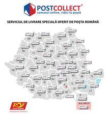 Harta locatii PostCollect