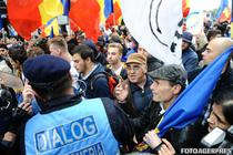 Incidente la marsul pentru unire