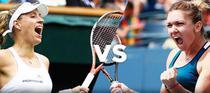 Angelique Kerber vs Simona Halep
