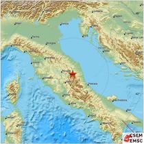 Cutremur in centrul Italiei