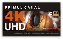 Primul canal TV in standard 4K din Romania
