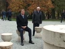 Klaus Iohannis la Masa Tacerii