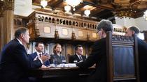 Iohannis la prima sedina a comisiei privind proiectul de tara
