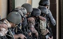 Militari irakieni in timpul unor exercitii in baza KASOTC din Iordania