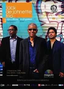 Concert Jack DeJohnette Trio, concert la Sala Radio
