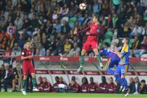 Cristiano Ronaldo a inscris patru goluri pentru Portugalia