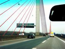 Pe o autostrada germana