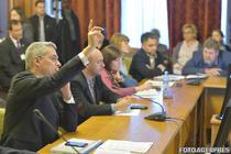 Dragos Pislaru in fata deputatilor si sindicalistilor