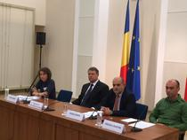 Klaus Iohannis la dezbaterea pe tema taxei TV