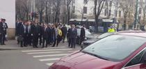 Dacian Ciolos la semafor