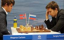 Magnus Carlsen vs Serghei Kariakin