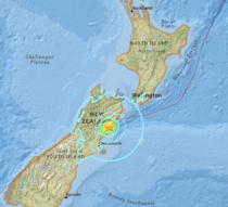 Cutremure in Noua Zeelanda