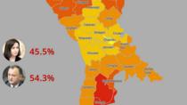 Alegeri R. Moldova: Cum au votat raioanele
