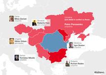 Romania, inconjurata de tari pro-ruse