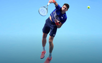 Milos Raonic, la Turneul Campionilor