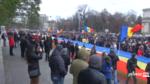 Protest la Chisinau, dupa alegerile prezidentiale