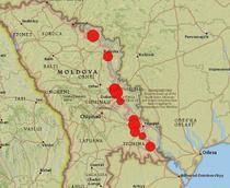 Localitatile de langa Transnistria, inrosite de voturile pe lista suplimentara