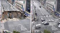 Drum surpat grav in Japonia, reparat in 48 de ore