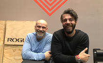 Florin Darie(stanga) si Vlad Lecca