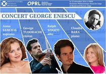 Concert Enescu la Liege