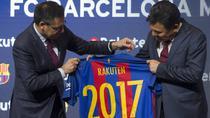 Tricoul Barcelonei si noul sponsor